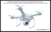 Drone Photogrammetry Surveys - Drone mapping in Uk