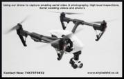 Drone site surveys - UAV site inspections UK