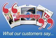 Brownings Ltd Shines As UKs Top Sign Makers Offering Poster Case