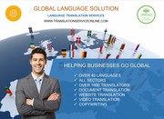 Translation of Documents - Best Price for High Quality and Fast!