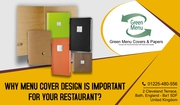 Why Menu cover design is important for your restaurant?