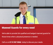 Manned Guarding Services in East Midlands