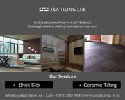 Brick Slips and Ceramic Tiles Installation