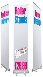 Roller Banner Stands for Cheap Cost Brand Promotion