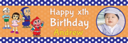 Celebrate the true joy of life with custom 1st birthday banners