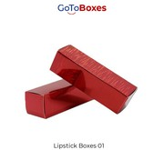Custom Lipstick Packaging Wholesale at GotoBoxes