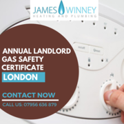 Annual Gas Safety certificate Chelsea   James Winney